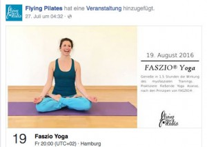 FASZIO® Yoga bei Flying Pilates