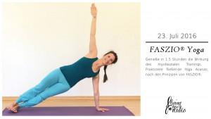 Juliane Galke unterrichtet FASZIO® Yoga bei Flying Pilates