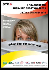 Turn- und Juliane Galke beim Sportkongress Saarbrücken
