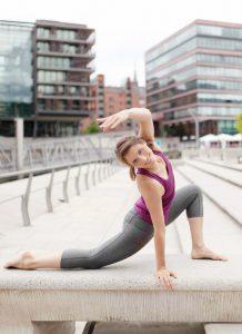 Juliane Galke, Yogalehrerin, Faszienyoga Hamburg und Bremen